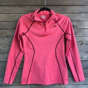 Under Armour semi-fitted cold gear sweater size sm
